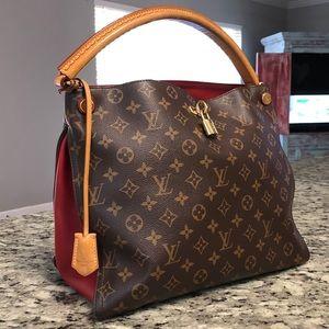 Louis Vuitton Gaia shoulder purse